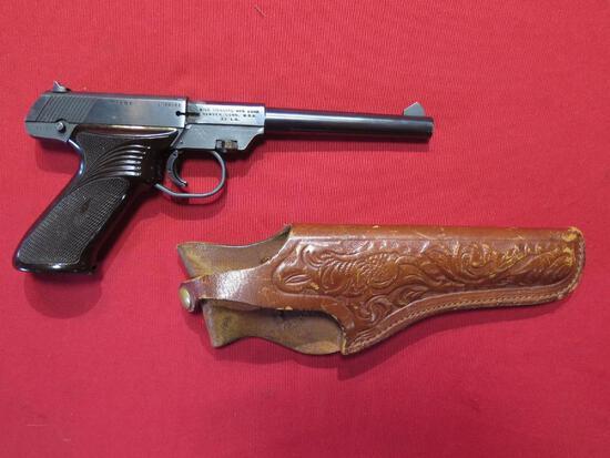 High Standard Dura Matic M-101, .22LR semi auto pistol w/holster-parts gun