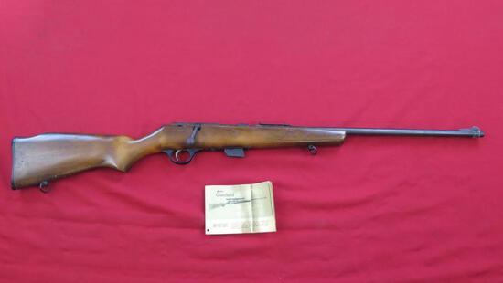 Glenfield Model 25 .22 s,l,lr bolt rifle , tag#1237