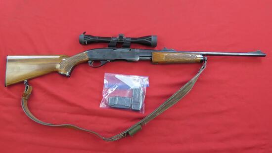 Remington Gamemaster 760 .308 Win, pump rifle w/ 2 mags, Tasco 4x40 scope ,