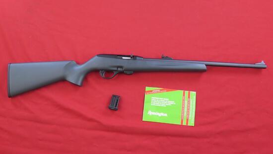 "Remington Model 597 .22LR Semi-Auto Clip Feed (2 """" 10 shot magazines). Man"