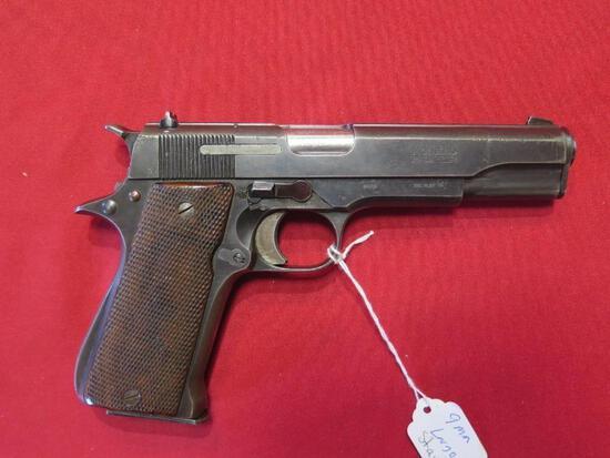 Star Modelo Super 9mm Largo semi auto pistol, tag#1290