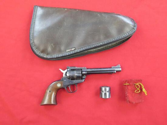 Ruger Single Six revolver with .22LR & .22Mag cylinders, tag#1304