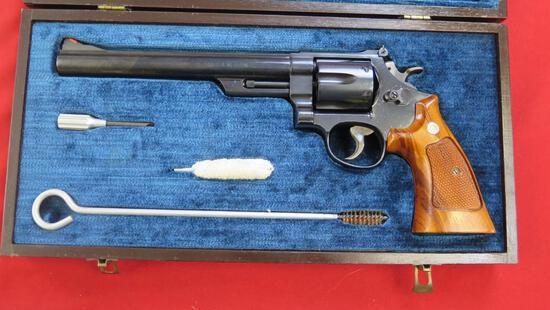 """Smith & Wesson 29-3 .44Mag revolver, 8"""" barrel, display case, tag#1383"""