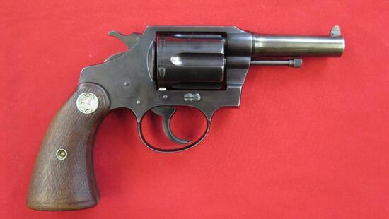 "Colt Police Positive .38sp revolver, 3"" barrel, tag#1392"