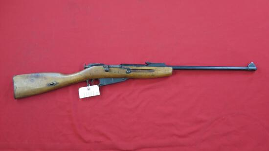 Mlosin Nagant style military rifle 7.62x54 (?) bolt, tag#1439
