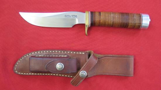 "Randall 5"" knife with sheath"