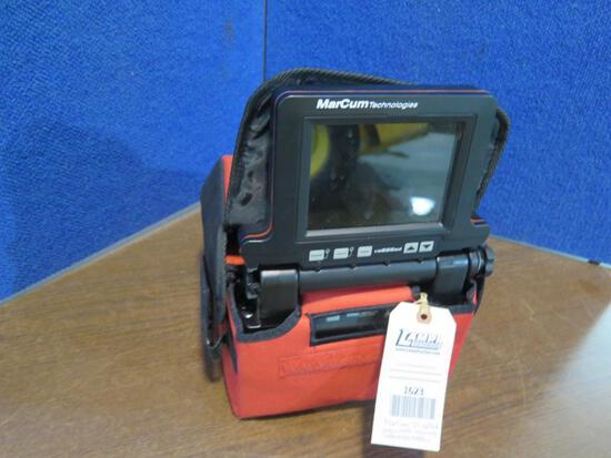 MarCum VS 625sd Underwater viewing system-New battery, tag#1623