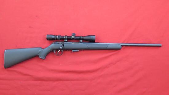 Savage model 93R17 .17HMR Bolt Rifle w/Simmons 3-9x40 8 point scope , tag#1