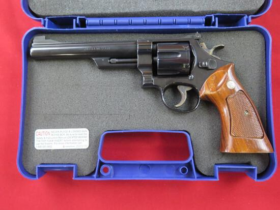 """Smith & Wesson 25-2 .45ACP 6 shot double action revolver, 6"""" barrel, with d"""