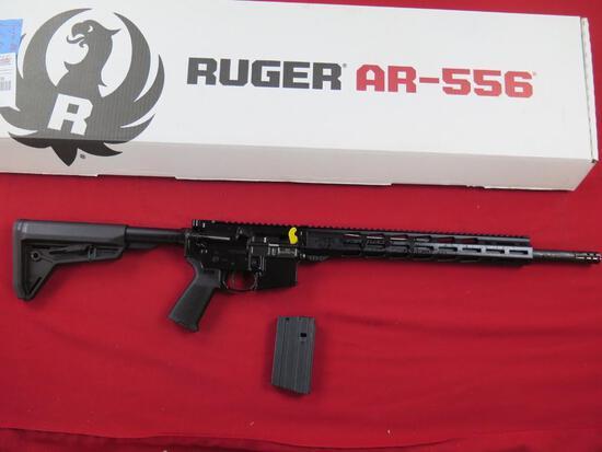Ruger AR556 MPR450BU 450Bushmaster semi auto, 5rd mag, SKU8522 - New~3608