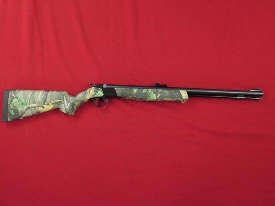 CVA Wolf Camo .50 cal. Black power rifle (shot once)~3764