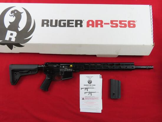 Ruger AR556 MPR .450 Bushmaster semi auto rifle, sku#8522, 1-5rd mag, new i