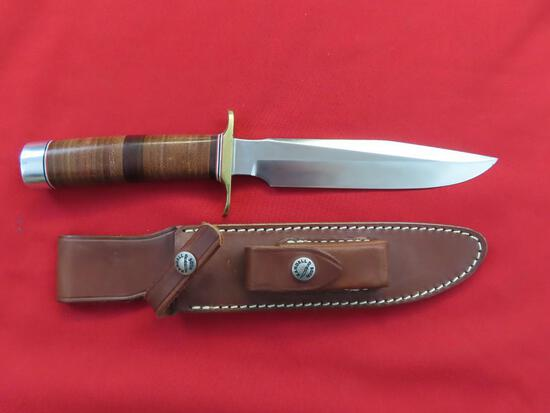 "Randal knife with 7"" blade & sheath~1056"