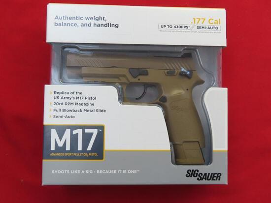 Sig Sauer M17 .177 pellet,CO2, semi-auto,unopened, NIB~1337
