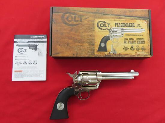 Colt Peacemaker SAA .177 pellet,CO2, single action revolver,test fired, LNI