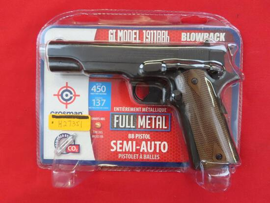 Crosman 1911BB .177 BB,CO2, double,unopened, NIB~1344
