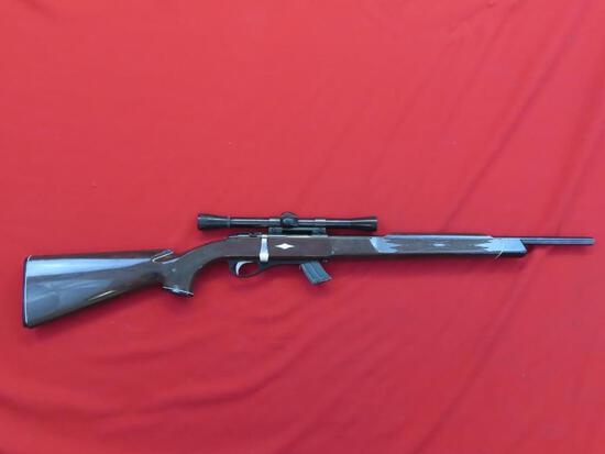 Remington 11 Nylon .22LR or short bolt with mag & weaver scope~1454