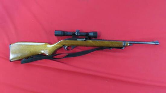 Glenfield model 75 .22LR semi auto, BSA 22 special scope, sling~6509
