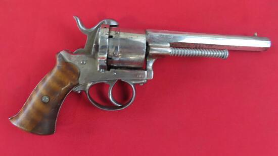 Belgian Pinfire Revolver 9mm Revolver~6838