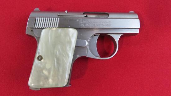 Bruer .25ACP semi auto pistol~6942
