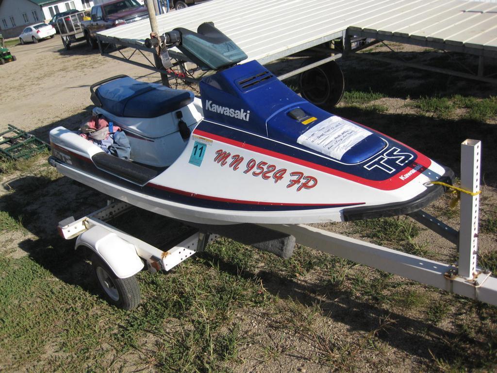 1989 Kawasaki Ts Jet Ski 650 J Auctions Online Proxibid