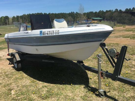 Forester 151 Osprey Boat Package