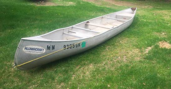 Alumacraft 17' Canoe