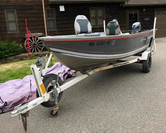 Alumacraft Lunker V16 LTD Boat Package