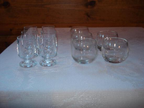 Shot glasses or small Sherry sets