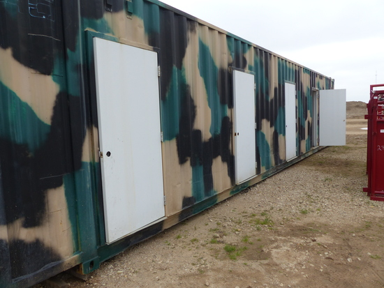 45 FT CONTAINER W/BUNKHOUSE CONVERSION
