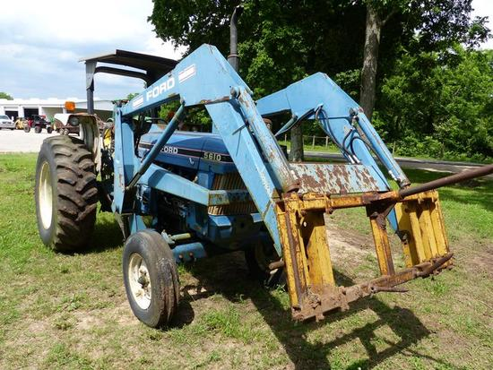 FORD 5610 TRACTOR II SPECIAL