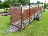 20' PORTA CHUTE PORTABLE CATTLE CHUTE