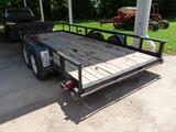 1996 BIG TEX PIPE RAIL 16'X83