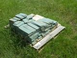 PALLET OF GREEN TILE