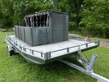 2006 GO DEVIL FLOATING DUCK BLIND BOAT