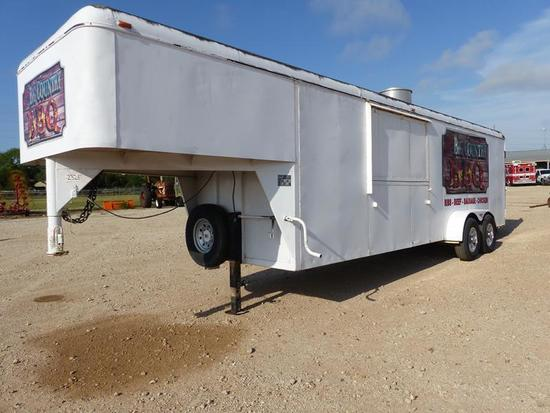 1998 26' CM GN STOCK TRAILER CONVERTED TO