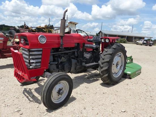 MF 150 DIESEL TRACTOR 3,900 HRS SHOWING, SN-A972515
