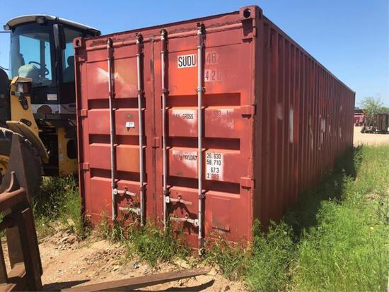 40' SHIPPING/STORAGE CONTAINER