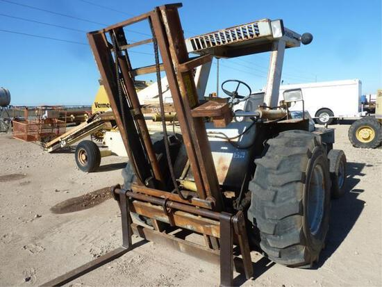 TEXAS LIFT FORK TL5955 LIFT TRACTOR