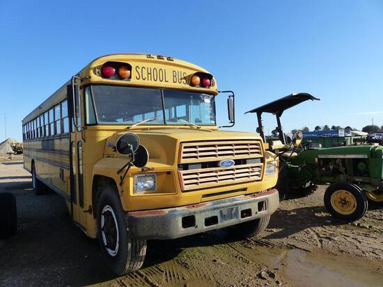 1993 FORD B700 SCHOOL BUS