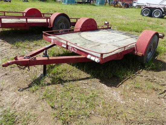 SHOPMADE 6'X10' LOWBOY TRAILER