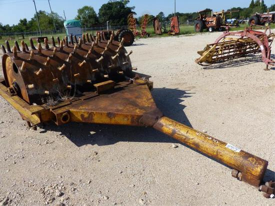 6' SHEEP FOOT ROLLER BY SHOVEL SUPPLY MODEL L-12