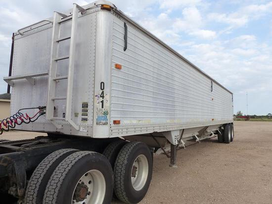 2004 TIMPTE 42 FT AIR RIDE SUPER HOPPER TRAILER