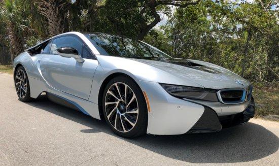 2015 BMW i8, 1.3L L3 HYBRID SUPER CAR, 2-DOOR,