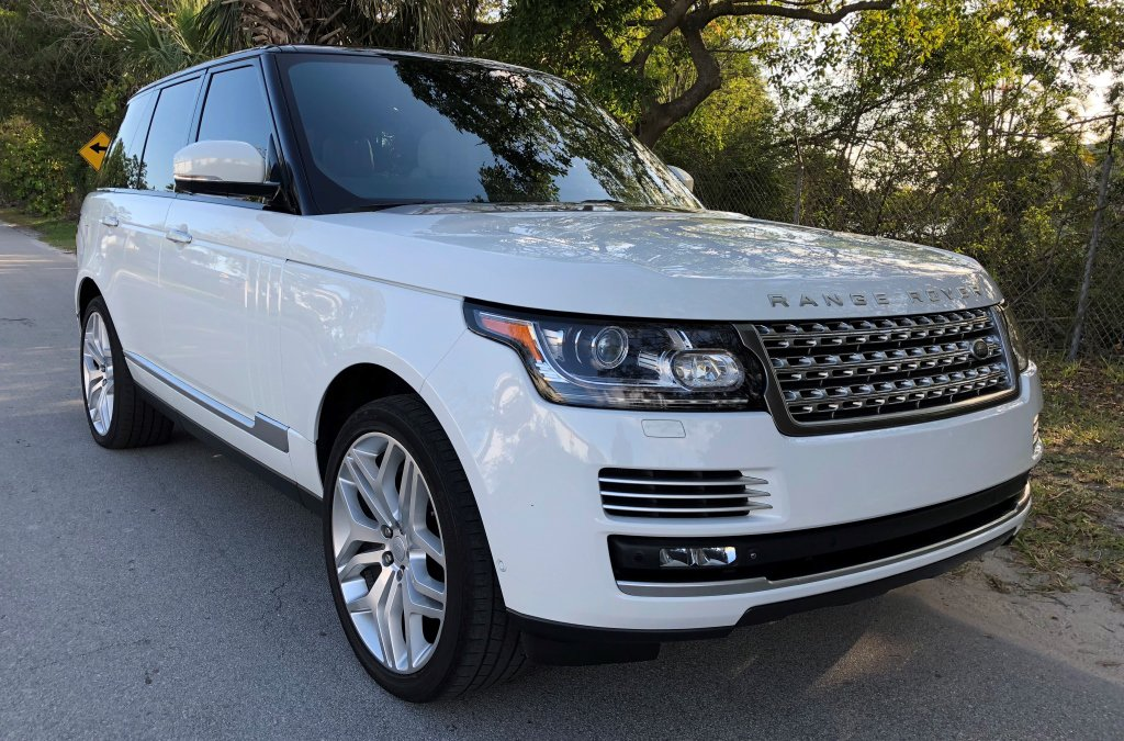 2015 LAND ROVER RANGE ROVER, AUTOBIOGRAPHY