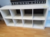 LOT CONSISTING OF: (2) WHITE LAMINATE  SHELVING UNITS