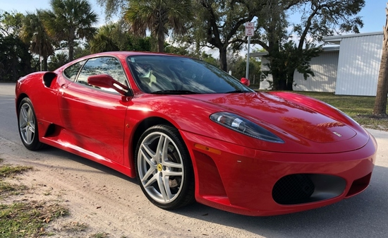 2006 FERRARI F430 BERLINETTA F1, 4.3L V8 32V ENGINE