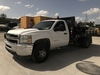 2013 CHEVROLET 3500 HD DUALLY FLATBED UTILITY TRUCK