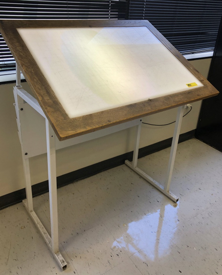 PORTA-TRACE LIGHTED TRACING TABLE