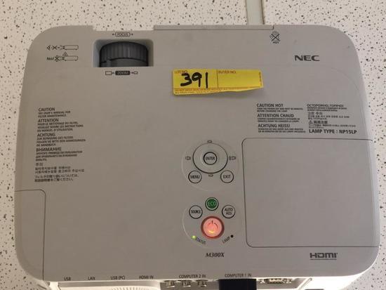 NEC PROJECTOR (MODEL # NP-M300X)